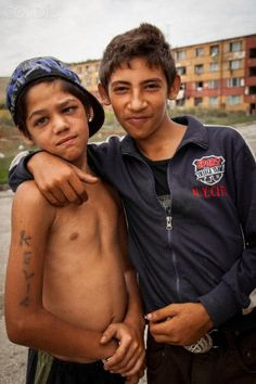 In pictures: Slum life of Roma kids from Lunik IX in Slovakia