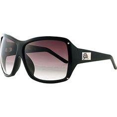 2ba9cb0a212 Black Flys On The Fly Sunglasses Shiny Black Smoke Lens