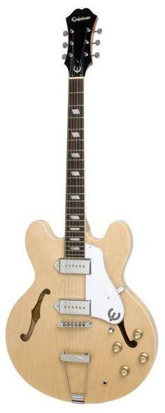 Epiphone Casino Hollowbody Electric Guitar - Natural #epiphone #guitar