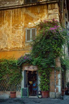 Caffè a Trastevere (Roma)
