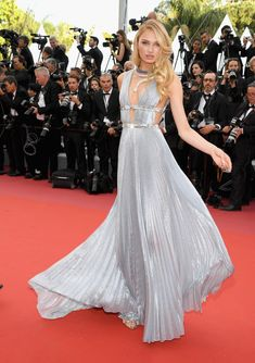 Romee Strijd In Alberta Ferretti - The Boldest Dresses At The 2018 Cannes Film Festival - Photos