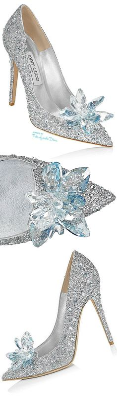 Jimmy Choo 'Cinderella' ♔Très Haute Diva♔ #jimmychooheelswedding #jimmychoowedding #promheelscinderella #jimmychoocinderella