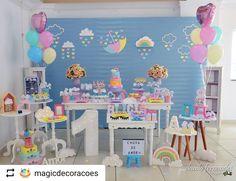 """Portal das Festas no Instagram: """"As cores deram um ar de alegria. Adoramos #Repost @magicdecoracoes with @instatoolsapp ・・・ Apaixonada em cada detalhe da festa de ontem…"""" • Instagram"""