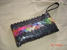 Recycled Wapper Purse