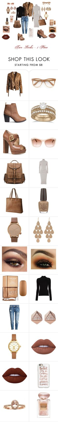 """""""1 Jacket - 2 Looks"""" by blaqphire ❤ liked on Polyvore featuring Sans Souci, Wildfox, Allurez, Michael Kors, Chanel, James Perse, SOREL, OPI, Komono and Irene Neuwirth"""