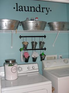 Metal buckets/basins