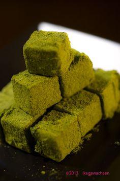 Green Tea Ganache 緑茶生チョコ
