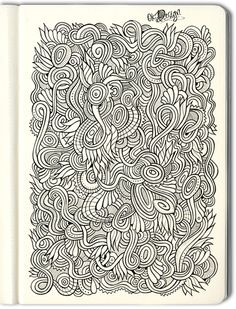 Hand drawn nature doodles on Behance by Olga Kostenko (Kiev, Ukraine) [on Behance.net]