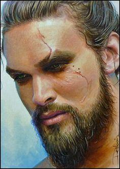 Khal Drogo by DavidDeb.deviantart.com on @deviantART