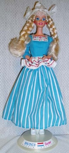Dutch  Yes, I have this boxed, Grace has one she plays with and I have the McDonalds version too....I love being dutch!