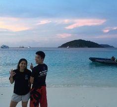 Nicole and Nathan Similan Islands, Thailand