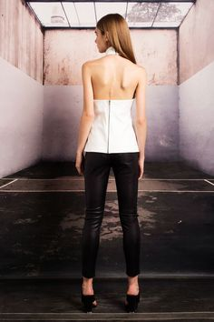 The MISSION tank in white available now online at the #stonecoldfox