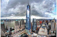 One World Trade Center, New York.