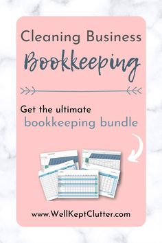 Bookkeeping Course, Online Bookkeeping, Small Business Bookkeeping, Bookkeeping And Accounting, Business Cleaning Services, Cleaning Contracts, Cleaning Companies, Cleaning Hacks, Finding Motivation