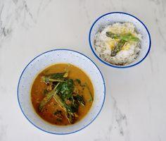 Menu, Thai Red Curry, Soup, Dahl, Vegan, Ethnic Recipes, Indian Cuisine, Seasonal Recipe, Almond Milk