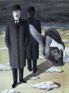 René Magritte, De zin van de nacht - Le sens de la nuit - The meaning of night   1927 on ArtStack #rene-magritte #art