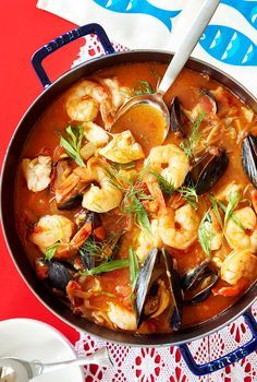 """Next comes your SOUP. This elegant situation is called """"Cioppino"""" (Chee-O-Pee-No), which is Italian for fish stew. 