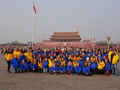 The Augustana Band on tour in China