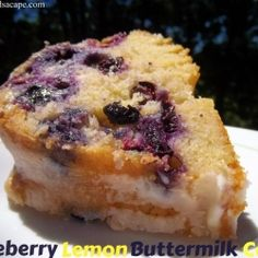 Blueberry Lemon Buttermilk Cake recipe