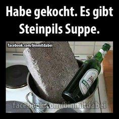 Steinpils suppe