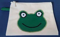 Bubusie: Kosmetyczka żaba
