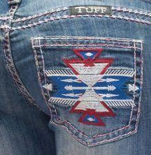 Aztec Pride Cowgirl Tuff Jeans