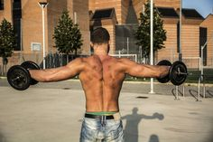 5 Best Shoulder Exercises to Hit All 3 Deltoid Muscle Heads and Build Huge Shoulders Lifting Workouts, Chest Workouts, Gym Workouts, Shoulder Muscles, Shoulder Exercises, Delts Workout, Crossfit, Best Shoulder Workout, Body Weight Training