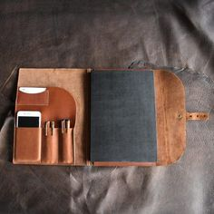 Leather Resume Portfolio Executive Leather Portfolio For Men Women College Students And New .