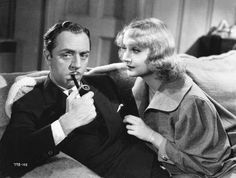 William Powell and Carole Lombard in My Man Godrey
