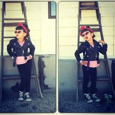 Incredibly cute rockabilly kid