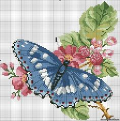 Gorgeous butterflies. Embroidery. Discussion on LiveInternet - Russian Service Online Diaries