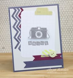 great colours and love that camera...card by Anya Schrier