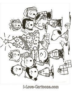 charlie brown christmas coloring pages to print