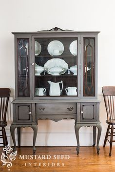Trophy china cabinet | miss mustard seed