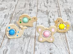 """Woodie Buddies arrived! Collectible Rattle Collection """"Woodie Buddies"""" from Mary & Kate is now available on Amazon.com.  Made with European beechwood & non-toxic water based colors. #baby #babies #mommyblogger #rattle #teether #teething #montessori #montessoribaby #wood #wooden #babytoys #vegan #organicfamily #natural #organic #organicproducts #products #cute #picoftheday #bestoftheday #motherhood #parenting #uniteinmotherhood #organicbaby #mommylife #mommy #childcare #safe #lifewithbaby…"""