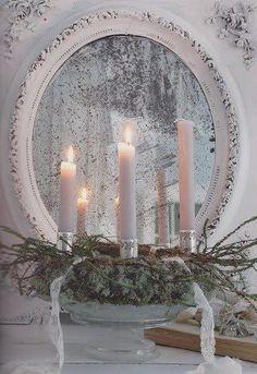 Candle light and Christmas