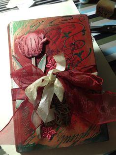Kleines rotes Tagebuch.