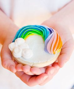 Rainbow Sugar Cookies - Super fun and perfect for so many occasions!