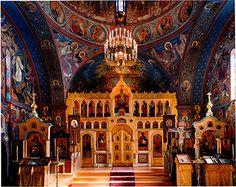 Holy Trinity Monastery in Jordanville, NY.