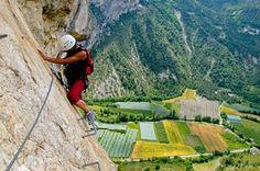 Climb Via Ferrata de la Grande Fistoire, Le Caire, France - Bucket List Dream from TripBucket