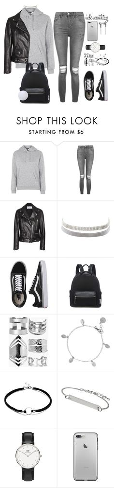 """18❤"" by inlovewithtay on Polyvore featuring mode, Topshop, Acne Studios, Charlotte Russe, Vans, Boohoo, Chupi et Daniel Wellington"