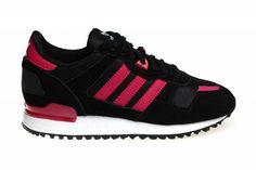 cbacc5afc24 ... netherlands adidas zx 700 w voor dames in de kleuren zwart met roze en  wit. ...