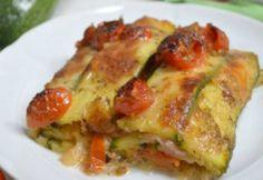 Lasagnes de Courgettes au Jambon et Tomates Cerises WW
