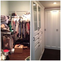 California Closets Before And After Beautiful Pictures