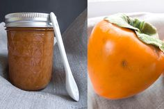 Quick Persimmon Jam recipe - Stone Soup - November 2013 This jam takes advantage of the soft flesh of a fully ripened Hachiya persimmon.