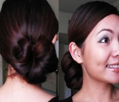 Zig Zac Mania: Super Easy & Stylish Side Bun Hairstyle Step By St...