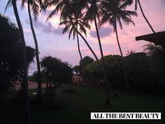 An amazing sunset in Sri Lanka.. I love purple skies  www.AllTheBestBeauty.com