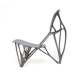 Joris Laarman's Bone Chair My Furniture, Furniture Design, Contemporary Chairs, Cool Chairs, Lounge Chairs, Take A Seat, Modern Retro, Mid Century Modern Design, Chair Design