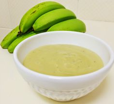 bio massa de banana verde