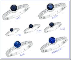 Gemstone Quality and Size